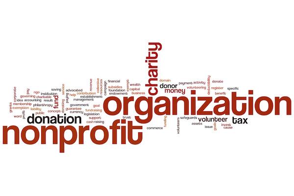nonprofit word cloud