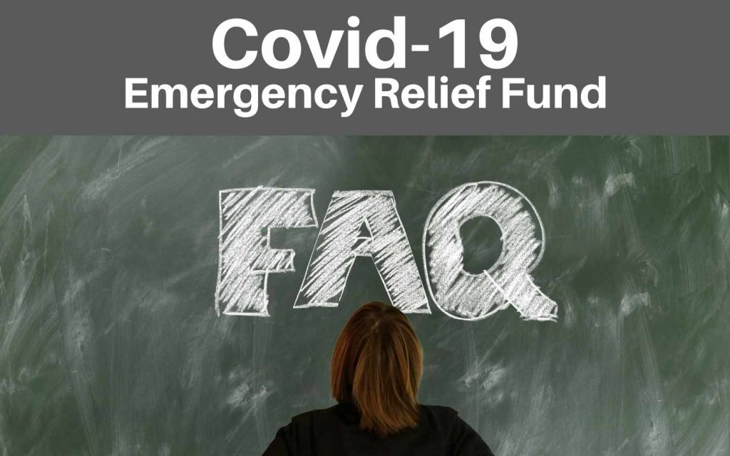 Covid fund FAQ